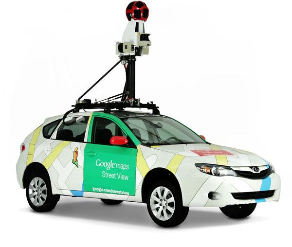 Googleストリートビュー撮影車